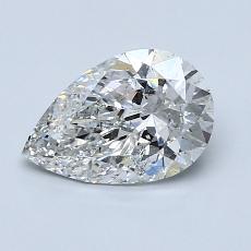 1.02 Carat 梨形 Diamond 非常好 F SI2