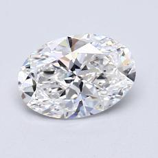 1,01-Carat Oval Diamond Very Good E VVS2