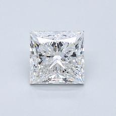 Recommended Stone #1: 0.83-Carat Princess Cut Diamond