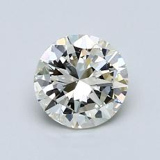 1.00-Carat Round Diamond Good K SI2