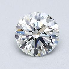 1,05 Carat Rond Diamond Idéale F VS1