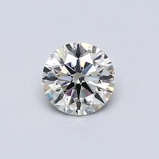 Recommended Stone #3: 0.45-Carat Round Cut Diamond