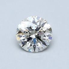 0.71 Carat 圓形 Diamond 理想 H VS1