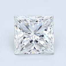 Recommended Stone #1: 1.50-Carat Princess Cut Diamond