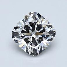 1.21 Carat 垫形 Diamond 非常好 F VVS1