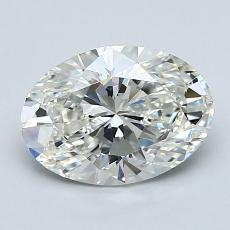 1.51-Carat Oval Diamond Very Good I VS2