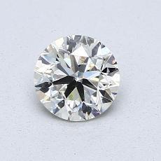 0.70 Carat Redondo Diamond Muy buena K SI2