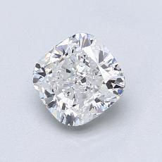 推荐宝石 2:1.02 克拉垫形钻石