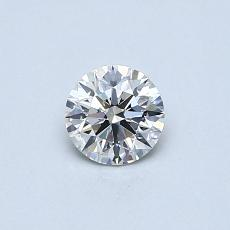 0.40 Carat Redondo Diamond Ideal H VS2