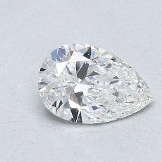 Recommended Stone #1: 0.64-Carat Pear Cut Diamond