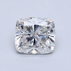 1.00-Carat Cushion Diamond Very Good G VS2