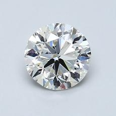 1.00-Carat Round Diamond Very Good H VVS2