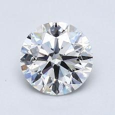 1.01 Carat ラウンド Diamond アイデアル E SI1