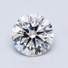 1.10-Carat Round Diamond Ideal G VS1