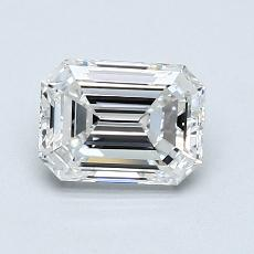 Recommended Stone #3: 0,90-Carat Emerald Cut Diamond