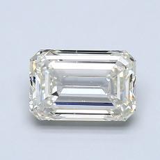 Recommended Stone #3: 1.08-Carat Emerald Cut Diamond