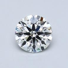 Recommended Stone #2: 0,77-Carat Round Cut Diamond