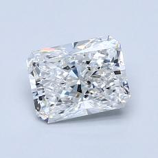 Recommended Stone #3: 1.01-Carat Radiant Cut Diamond