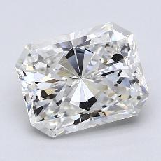 Pierre recommandée n°3: Diamant taille radiant 2,51 carats