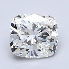 2.02-Carat Cushion Diamond Very Good G VVS2