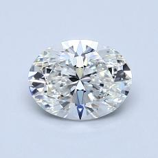 Recommended Stone #3: 0.91-Carat Oval Cut Diamond