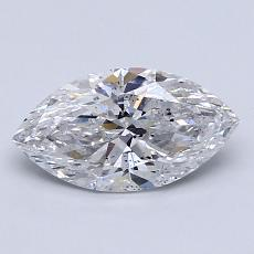 Recommended Stone #3: 1.02-Carat Marquise Cut Diamond
