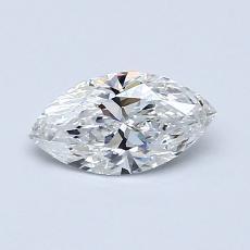 Target Stone: 0.50-Carat Marquise Cut Diamond