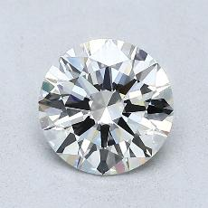 1.00 Carat 圆形 Diamond 理想 G VVS1