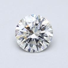 0.75 Carat 圆形 Diamond 理想 G VS2