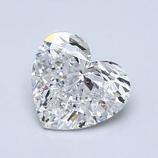 オススメの石No.1:1.01カラットのハートカットダイヤモンド
