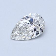 0.52 Carat 梨形 Diamond 非常好 G SI1