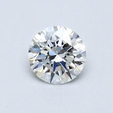 0,50-Carat Round Diamond Ideal F VS1