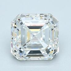 2.01 Carat アッシャー Diamond ベリーグッド F VS1