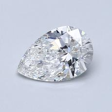 Current Stone: 0.74-Carat Pear Shaped