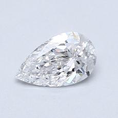 0.50 Carat Pera Diamond Muy buena D VVS2