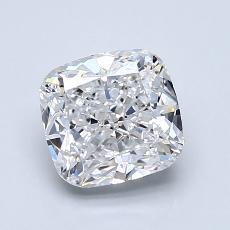 推薦鑽石 #4: 1.50 克拉墊形切割