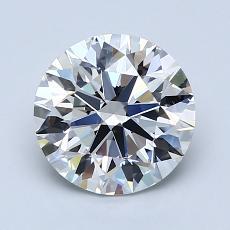1.80-Carat Round Diamond Ideal G VS2
