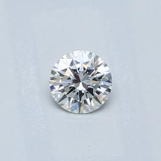 Recommended Stone #4: 0.26-Carat Round Cut Diamond