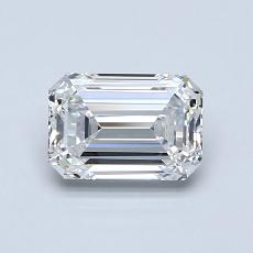 Recommended Stone #1: 0,94-Carat Emerald Cut Diamond