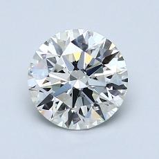 1.09 Carat 圆形 Diamond 理想 H VS1