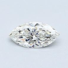 0.71-Carat Marquise Diamond Very Good H IF