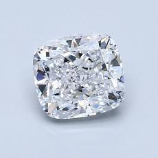 推荐宝石 4:1.13 克拉垫形钻石