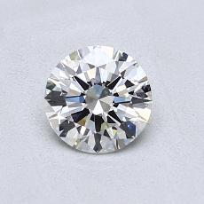 0,70-Carat Round Diamond Ideal G VS1