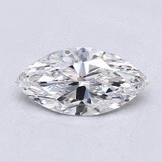 0.70-Carat Marquise Diamond Very Good D VS1