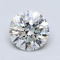 1.50 Carat 圆形 Diamond 理想 G VVS2