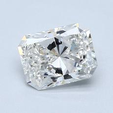 Recommended Stone #2: 1,50-Carat Radiant Cut Diamond