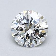 1.04-Carat Round Diamond Ideal G VVS2