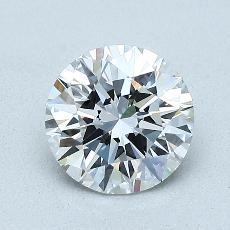 目标宝石:1.20克拉圆形切割钻石