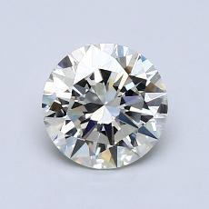 1.00 Carat 圆形 Diamond 理想 J VVS2