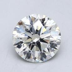 1,03 Carat Rond Diamond Idéale I SI1